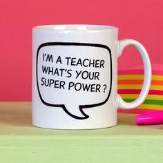Personalised Teacher's Gift Mug