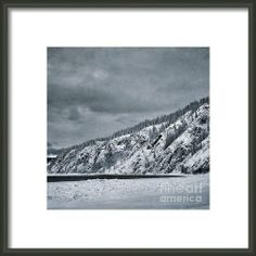 Land Shapes 13 Framed Print By Priska WettsteinWettsteinThis series is work in progress, I want to show the serenity, the unforgivness, the beauty of this landscape, where humans are only tolerated, not accepted.