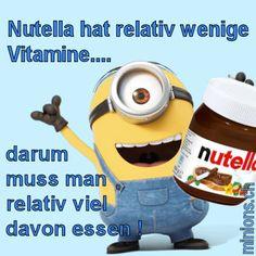 Nutella hat relativ wenige Vitamine...                                                                                                                                                                                 Mehr