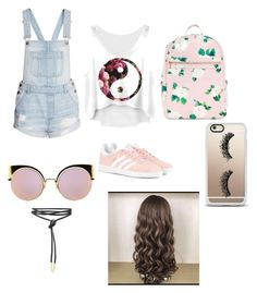 """""""Fun"""" by izzybelle717 on Polyvore featuring adidas Originals, Casetify and Fendi"""