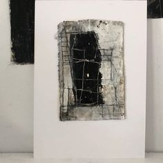 Small Paintings, Large Painting, Small Talk, Black Abstract, Puzzle Pieces, The Rock, Oil On Canvas, Fine Art, Black And White