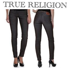 True religion Shannon mid rid micro corduroy pants Got from another posher but they're too short on my really long legs. she had them listed as only washed once and I'm listing them for same price. they're beautiful and perfect condition and look just like jeans and low pile so I wouldn't consider them cords. -- Contemporary corduroy pants for ladies. Style: SHANNON MID RISE SKINNY FIT COTTON. Low rise. Five-pocket styling with signature back pocket stitching.. True Religion Jeans