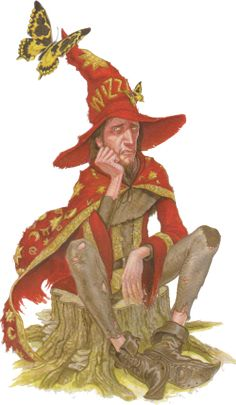 """Rincewind said: """" 'I don't think you understand. A wizard isn't what you do, it's what you are. If I wasn't a wizard, I wouldn't be anything.' """" --from Sourcery by Terry Pratchett. Discworld Characters, Discworld Books, Epic Characters, Fantasy Characters, Terry Pratchett Discworld, Whimsical Art, I Love Books, Fantasy Art, Fairy Tales"""