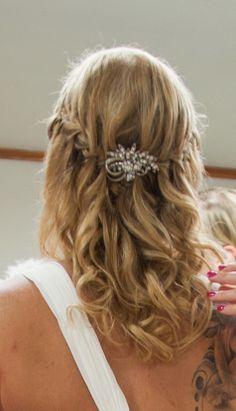Hair for a beach wedding in Thailand by Faraway Weddings