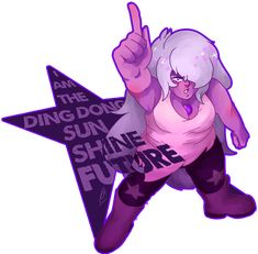what a fool i am…. amethyst is best girl… Steven Universe Spoilers, Amethyst Steven Universe, Steven Universe Pictures, Lapis And Peridot, Phineas And Ferb, Universe Art, Nerdy Things, South Park, Cartoon Network