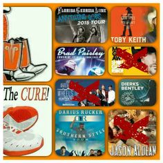 . Jason Aldean, Southern Style, Ms, Paisley, The Cure