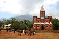 Phalombe Catholic Church and Rectory Malawi, Africa.