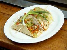 Fish Tacos with Corn Salsa Recipe : Robert Irvine : Food Network - FoodNetwork.com