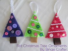 Perfect for tree ornaments, gift tags, or made into a garland!