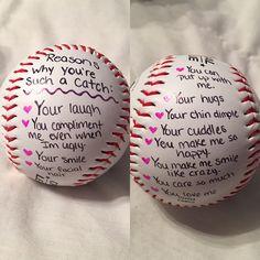 Cute baseball gift for him.