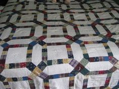 Easy Wedding Ring Quilt | Thread: double wedding ring pattern~need a pattern for making my first ...