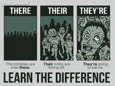 Nothing better than zombie grammar. Teaching Memes, Teaching Grammar, Grammar Lessons, Teaching Writing, Teaching English, Teaching Ideas, English Grammar, English Language, Writing Tips