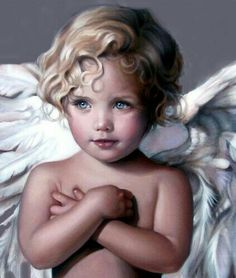 Angel Child by Nancy Noel. a Tribute to our Beautiful Daughter Noelle Angel Images, Angel Pictures, Angels Among Us, Angels And Demons, Baby Engel, I Believe In Angels, Angels In Heaven, Guardian Angels, Jolie Photo