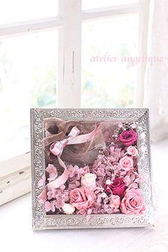 antique preserved flower arrangement