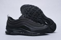 7a90314c34 Nike Air Max 97 Triple Black 921733 001 Sneaker Men's Women's Shoes Air Max  97,