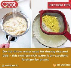 Kitchen Tips http://www.qoot.in/ #Water , #Tips , #khakhra, #bikanerpapad, #punjabimasalapapad, #buypapadonline, #qootpapad , #India , #QootMasti