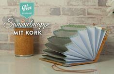 DIY: hübsche Sammelmappe mit Korkstoff selber machen