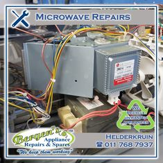 We repair all makes and models of microwaves. An additional service we offer is recycling of unwanted appliances at no cost to our customers. #wekeepthemworking #bergensappliances #appliancerepair #appliancepart #wefixappliances #repairtech #wefixit #quote #southafrica #inthekitchen #recycle #unwantedappliance #recycleappliance #ontheroadagain #onecallaway #collectandreturn #repaired #microwave #microwaverepair Appliance Repair, Appliance Parts, Bergen, Tumble Dryers, Kempton Park, Creating Communities, Domestic Appliances, Drain Pump, Microwaves