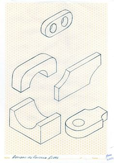 Desenho Técnico - A mão livre.