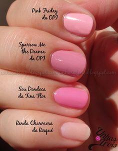 Light Pinks