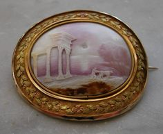 Temple of Hera Cameo - year unknown 1810 - 1840?