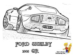 Image result for ford shelby gr template