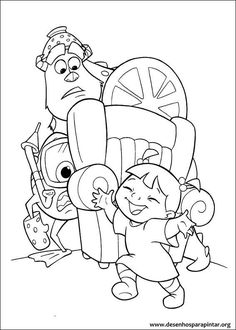 New Monsters Inc Coloring Book 82 Monster Inc cartoon coloring