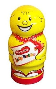 Shop for Maynards Bassetts Jelly Babies Giant Collectable Jar, 495 G. Starting from Choose from the 2 best options & compare live & historic grocery prices. British Store, Baby Jars, Baby Tub, Jelly Babies, Baby Gifts, Store Online, Nom Nom, Treats, Sweet Like Candy