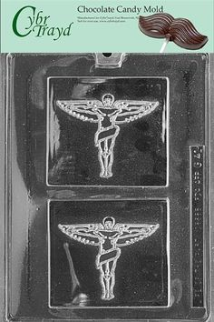Cybrtrayd G041 Chiropractic Insignia Greeting Cards Chocolate Candy Mold with Copyrighted Molding Instructions * Learn more by visiting the image link.