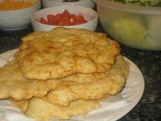 Indian Frybread...this would go great to make Indian taco! Yummy in my tummy!