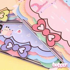 Colorful Ribbon Notepad