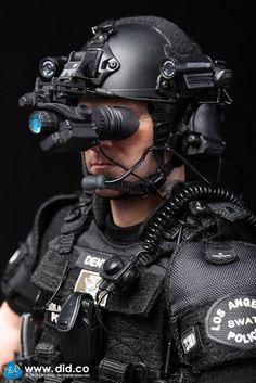 "toyhaven: DID Los Angeles Police Dept Metropolitan Division (LAPD SWAT) 2.0 POINT-MAN ""Denver"""