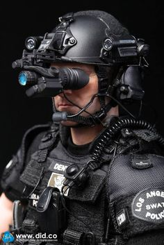 "toyhaven: DID Los Angeles Police Dept Metropolitan Division (LAPD SWAT) 2.0 POINT-MAN ""Denver"""