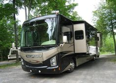 Touring the country in a Class A motor home!
