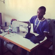 #Hard at #work at the Mayamiko #workshop  we support them for ethical made in africa fashion companies for fashion revolution day  Thursday 24th April is Fashion Revolution Day. We remember those who died or who were impacted by the Rana Plaza factory collapse in Bangladesh and so at Africa Fashion Guide we support this day.  Follow the campaign and wear your clothes inside out and lets start a revolution!  Read more here:  http://wp.me/p27Yw3-230