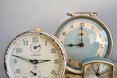 The 3 Little...clocks.
