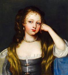 """Eleanor """"Nell"""" Gwyn (2 February 1650 – 14 November 1687; also spelled Gwynn, Gwynne) was a long-time mistress of King Charles II of England and Scotland."""