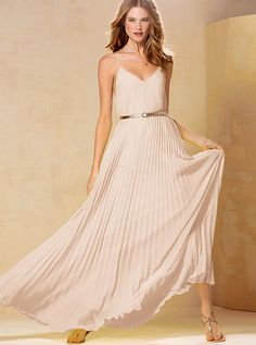 Love this bridesmaid dress option! $128 from Victoria Secret.