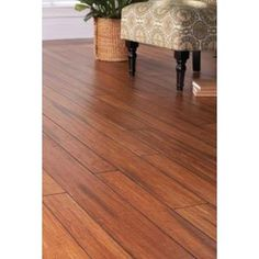 Home Decorators Collection Strand Woven Distressed Dark Honey 1/2 in. x Multi Width x 72 in. Length Click Lock Bamboo Flooring (21.86 sq. ft./case)-HD13004A - The Home Depot