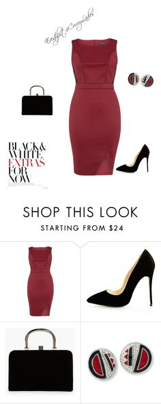 """Untitled #113"" by bellascurvas on Polyvore featuring Dorothy Perkins, Boohoo and Kenneth Jay Lane"