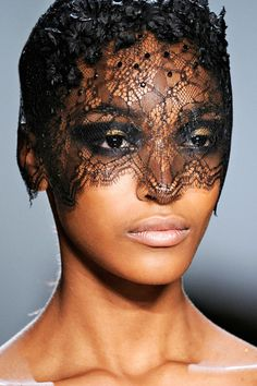 obsessed with lace faces right now!
