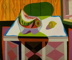 """stillwatermelon: """" Robert MacBryde, Still Life oil on canvas """" Still Life Images, Still Life Art, Still Life Oil Painting, Thing 1, Art Uk, Conceptual Art, Your Paintings, Be Still, Oil On Canvas"""