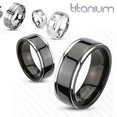 Men's Stylish Titanium Ring