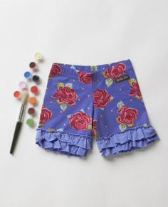 Barnyard Shorties (RV $32-$34) Sizes: 6M-14Y Paint by Numbers Fall ~ 2013