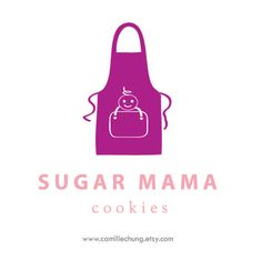 Logo Design Concept for Sugar Mama by Camille Chung
