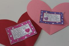 Countdown to Valentines day - with poems or scriptures about love for school or church bulletin board