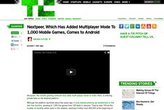 http://techcrunch.com/2013/05/27/nextpeer-android/ ... | #Indiegogo #fundraising http://igg.me/at/tn5/
