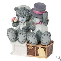 Me To You Figurine (Tatty Teddy) : JUST MARRIED TRIP FOR2 # 40991 - IN STOCK | eBay