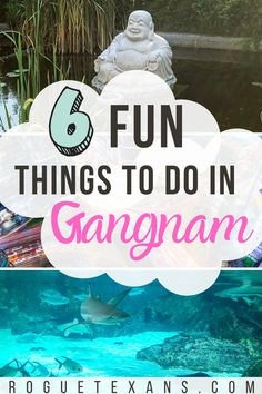 Here's our guide to some of the most fun things to do in Gangnam, Seoul! Gangnam is a wealthy district in Seoul known for the Olympic Park, countless plastic surgeon offices, and of course, Psy's 2012 hit Gangnam Style. Travel Guides, Travel Tips, Travel Destinations, Bali Travel, Wanderlust Travel, Gangnam Seoul, Japanese Travel, South Korea Travel, Globe Travel