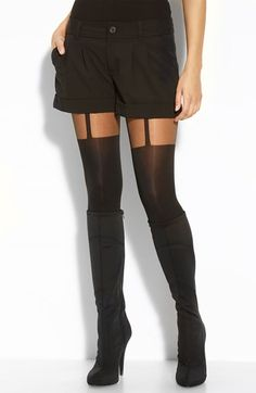 Pretty+Polly+'Suspended'+Tights+available+at+#Nordstrom